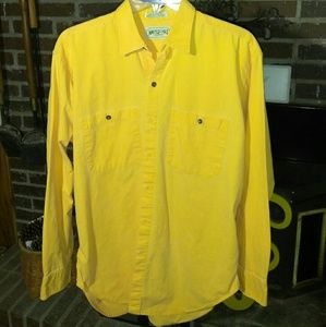 American Eagle Outfitters Men's Mustard Color